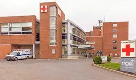 Emergency room entrance Columbia Memorial Hospital
