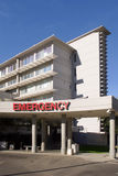 Emergency Room Entrance at a Hospital Stock Photo