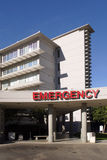 Emergency Room Entrance at a Hospital stock photography