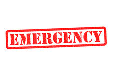 EMERGENCY Royalty Free Stock Photography