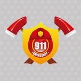 Emergency service design. Illustration eps10 graphic Stock Photo