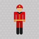 Emergency service design. Illustration eps10 graphic Stock Photos
