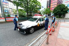 Emergency service Japan Police Royalty Free Stock Photo