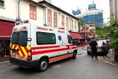 Emergency service Singapore ambulance Stock Images