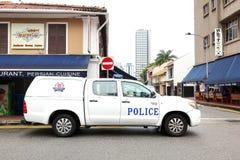 Emergency service Singapore Police Royalty Free Stock Image