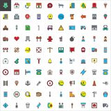 Emergency services filled outline icons set. Line vector symbol collection, linear colorful pictogram pack. Signs, logo illustration, Set includes icons as Stock Photo