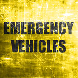 Emergency services sign Royalty Free Stock Photography