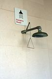 Emergency Shower at hospital Stock Photography