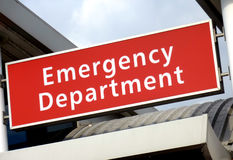 Emergency Sign Stock Images