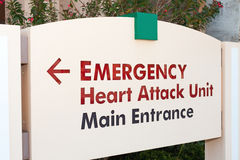 Emergency Sign stock photography
