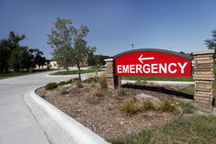 Emergency Sign Royalty Free Stock Images