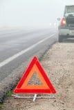 emergency sign stop στοκ εικόνα με δικαίωμα ελεύθερης χρήσης