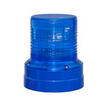 Emergency signal. Isolated blue-light in off position Stock Photography