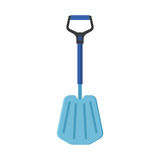 Emergency Snow Shovel Stock Image