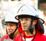Emergency squad Stock Images