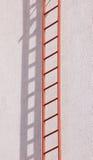 Emergency staircase Stock Photo