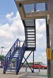 Emergency stairway Royalty Free Stock Photo