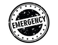 Emergency stamp Stock Photos
