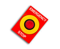 Emergency and stop Royalty Free Stock Photography