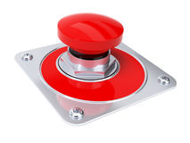 Emergency stop button Royalty Free Stock Photography