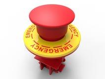 Emergency stop button Stock Photos
