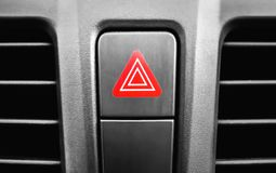 Emergency stop button in the passenger compartment royalty free stock photo