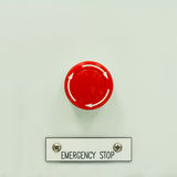 Emergency stop Stock Photos