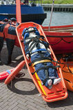 Emergency stretcher Royalty Free Stock Photography
