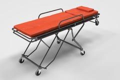 Emergency Stretcher Stock Photo