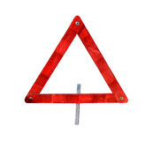 Emergency trafic triangle Stock Photography