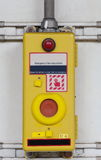 Emergency train stop button Stock Photography