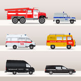 Emergency transport Stock Photo