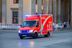 112 emergency truck Royalty Free Stock Photography