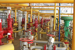 Emergency valve. Royalty Free Stock Image