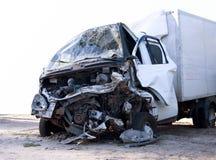 Emergency vehicle. Isolated on white background Royalty Free Stock Photo