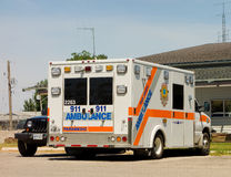 An emergency vehicle in canada Royalty Free Stock Image