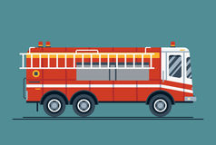 Emergency vehicle fire engine truck Stock Photography