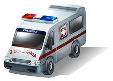 An emergency vehicle Stock Photos