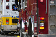 Emergency Vehicles Stock Photography