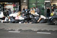 Emergency waste Stock Photo
