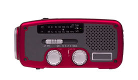 Emergency weather radio Stock Image