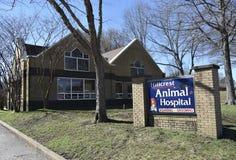 Emergenza animale di Hillcrest ed ospedale dell'animale domestico, Bartlett, TN fotografia stock