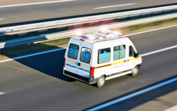 Emergenza dell'ambulanza Fotografie Stock