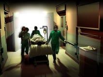 Emergenza medica Fotografia Stock Libera da Diritti