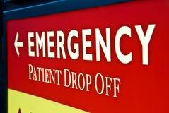 Emergenza: Paziente cada fuori Fotografia Stock