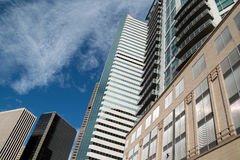 The Architecture of Denver, Colorado Royalty Free Stock Images