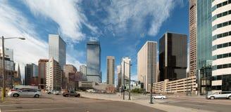 The emerging skyline of Denver, Colorado Royalty Free Stock Photo