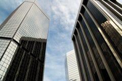 The emerging skyline of Denver, Colorado Royalty Free Stock Photos