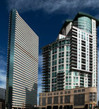 The Downtown Architecture of Denver, Colorado Royalty Free Stock Photo