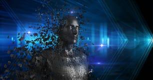 emergir 3d humano das partes Fotos de Stock